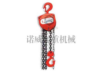 Explosion-proof chain hoists