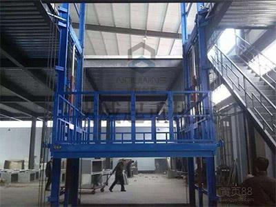 Hydraulic Guide Type Lift Elevator